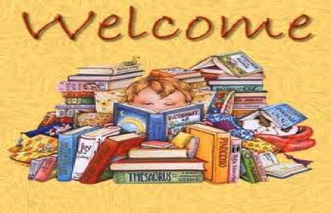 Welcome... Child reading books